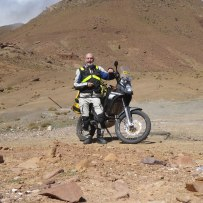 Heading to the top of the Tizi n'Tika pass