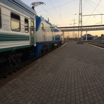 Tashkent to Urgench night train