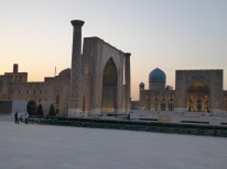 Evening in The Registan, Samarkand