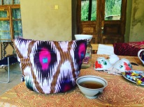 """A universal Uzbekistan thermos"", said my host. ""A tea cosy"", I replied!"