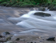 River Ogwen flows endlessly towards the sea